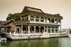 Marble Boat (Julien//K) Tags: china travel summer boat nikon asia beijing kitlens palace marble pkin d3200 palaisdelt