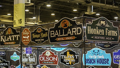 Signing On Wild West Way - Houston Livestock Show and Rodeo (Mabry Campbell) Tags: usa signs photography march photo texas photographer unitedstates image tx unitedstatesofamerica houston 85mm photograph fineartphotography 1250 architecturalphotography 2015 commercialphotography f32 ef85mmf18usm houstonlivestockshowrodeo architecturephotography fineartphotographer sec mabrycampbell march152015 20150315h6a4334