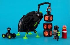 Blacktron IV (simplybrickingit) Tags: uk classic fun toy lego space retro future minifigure moc blacktron classicspace