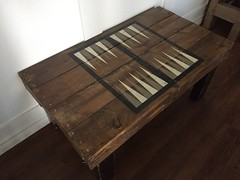 Pallet Backgammon Table (irecyclart) Tags: backgammon coffetable