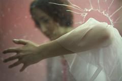 Broken (W. Follies) Tags: pink light portrait italy ballet classic glass beauty dance model nikon ballerina fineart dancer ritratto danzaclassica classicdance francescaciavarella melancholiaproject