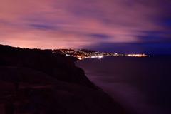 La Jolla Coastline, San Diego (Samd7000) Tags: california sunset sea sky usa cloud seascape skyline clouds skyscape nikon cityscape nightscape unitedstates sandiego outdoor dusk shoreline shore coastline cloudscape unedited d810 tokina2035mmf35