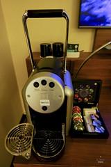 Nespresso machine (A. Wee) Tags: hotel switzerland zurich sheraton nespresso    neuesschloss