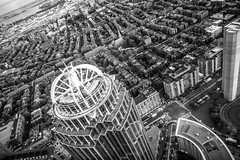 When You Finally Let Go of the Things That Hold You Down You Find Freedom (Thomas Hawk) Tags: bw usa boston architecture unitedstates fav50 massachusetts unitedstatesofamerica backbay prudentialcenter fav10 fav25 prudentialskywalkobservatory