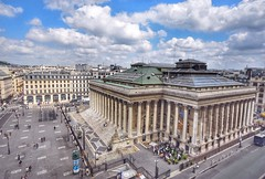 Palais Brongniart, previously the Stock Exchange (alcowp) Tags: paris france architecture cityscape bourse stockexchange finance