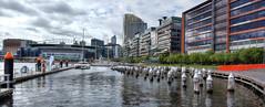 Docklands Melbourne (vicmarnz) Tags: panorama marina buildings harbour melbourne docklands hdr etihadstadium