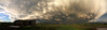 After the Storm @ Sunset (northern_nights) Tags: cffaa clouds sunset afterthestorm chaoticsky pano panorama skycloudssun 100v10f