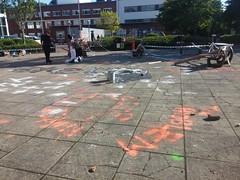 ADP Riot Tour, Cardiff (DJLeekee) Tags: people streetart art college riot tour cardiff police container riots minature adp klf uwic jimmycauty metroplitan