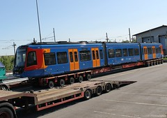 Stagecoach Supertram 399202 (Tom Cousins Photography) Tags: train square south sheffield yorkshire transport tram delivery passenger executive trial stagecoach nunnery rotherham supertram citylink stadler sypte vossloh