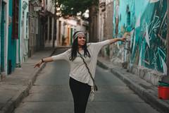 Daniela  (Ronny lvarez) Tags: trip travel friends sunset love film 35mm canon vintage freedom friend colombia photographer indian free lifestyle photograph 35mmfilm indie tropic traveling cartagena camara indias lifestyles fredom getseman ronnyalvarez