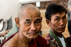 Faces of Myanmar. (ravalli1) Tags: travel portrait people asia southeastasia burma streetphotography monk myanmar mandalay 2016 nikon7100