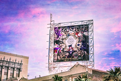 Alice (Carrie McGann) Tags: texture losangeles interesting nikon billboard hollywood hollywoodblvd 050316 elcapitantheatre alicethroughthelookingglass myowntexture