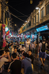 Beer Street (Marc Molenaar) Tags: city night asia streetphotography vietnam nightlife hanoi oldquarter