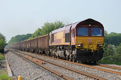 66043 (6V06) (Worcestershed) Tags: class66 ews 66043 dbshenker