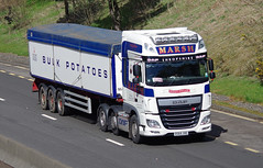 Marsh Potato Haulage of Bridgnorth DAF XF DS64JHE (andyflyer) Tags: truck transport lorry haulage hgv roadtransport dafxf marshpotatohaulage marshhaulage ds64jhe