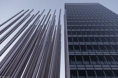 Stahl + Glas (zora_schaf) Tags: architecture munich mnchen glas hochhaus stahl linien stahltrger zoraschaf frauenhofergesellschaft