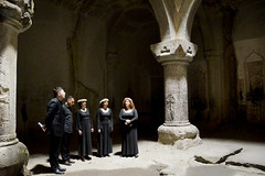 Geghard Monastery - Armenia (Agnieszka Eile) Tags: caucasus southcaucasus armenia geghard monastery church religion orthodox architecture singer choir
