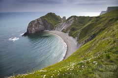 Man'o War Bay, Dorset (Hamish Mckay) Tags: sea england cliff man beach canon photography bay coast war o dorset jurassic leefilters