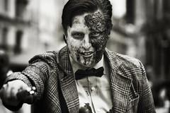 the eleventh zombie doctor (fat-freddies-cat ☺ ☻4½ million views☻☺) Tags: street portrait drwho birminghamengland zombiewalk