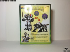 IMG68_1257 (ThanhQuan_95) Tags: white ranger power deluxe tiger legendary mighty rangers legacy mega bandai mmpr morphin megazord tigerzord