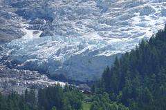 dramatic glaciers sliding into chamonix valley (eikzilla) Tags: france alps chamonix montblanc