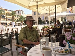 Peaceful (goforchris) Tags: people holidays crete cafes hfholidays chania hf westerncrete walkingholidays