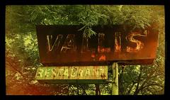 VALLIS' (akahawkeyefan) Tags: trees overgrown sign restaurant neon rusty vallis kingsburg davemeyer
