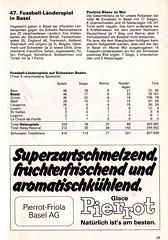 Switzerland vs England - 1981 - Page 31 (The Sky Strikers) Tags: world england cup st schweiz switzerland official basel 150 jakob fr programme offizielles programm qualifier fussballstadion