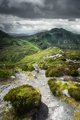 The Path to Ben Venue (Neillwphoto) Tags: mountains clouds path stormy hills trossachs benvenue beinnbhreac