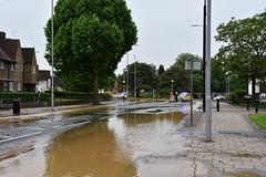 Burst Water Main 4 (John A King) Tags: road water hall main well burst eltham