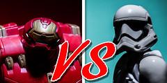 Hulkbuster vs Stormtroopers (Vimlossus) Tags: toy starwars action figure stormtrooper marvel hulkbuster