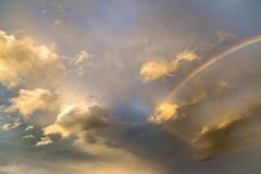Promise (Captured Heart) Tags: sky clouds rainbow promise aftertherain faithful