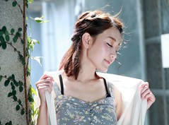 DP1U7644 (c0466art) Tags: light portrait cute beautiful canon pose big model eyes pretty action outdoor gorgeous young taiwan lovely charming elegant  1dx c0466art