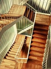 Escalera del Caraffa (Moto G) (Fernando (fer_cba)) Tags: museum stairs stair escalera cordoba museo escher geometria caraffa