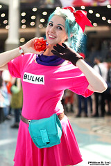IMG_4312 (willdleeesq) Tags: cosplay cosplayer dragonball dragonballz animeexpo cosplayers losangelesconventioncenter bulma ax2016 animeexpo2016