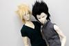 Goku and Vegeta (Damasquerade) Tags: new anime cosplay body ns bjd mezz ios 70 dragonballz balljointdoll dbz llt roderich 70cm immortalityofsoul lalegendedetemps dolllegend