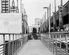 Parco Dora (kingappia87) Tags: park city urban italy parco film monochrome torino italian industrial cityscape ishootfilm dora piemonte epson medium format 6x7 ilford 67 v550 urbex delta400 parcodora filmneverdie smcpentax67macro14135mm