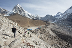 Path to Base Camp (D A Scott) Tags: nepal camp mountains trek asia everest base himalayas