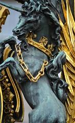 Unicorn at the Gate (pjpink) Tags: uk england london spring britain may royal palace buckinghampalace buckingham 2016 historicroyalpalaces pjpink
