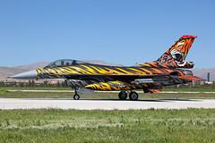 92-0014_F-16C_TurkishAF_KYA_SideOn (Tony Osborne - Rotorfocus) Tags: turkey force martin general air tiger f16 tai falcon fighting lockheed viper meet dynamics turkish nato filo 192 konya 2015 f16c