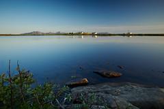 Stave, Andoya (stefandinkel) Tags: wasser norwegen blau spiegelung stave glatt m43 mft andoya olympusomdem1 stefandinkel