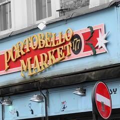 Portobello Market (lookaroundandsee) Tags: london nottinghill potobello shopping