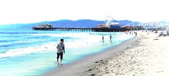 Santa Monica Beach (Bronxboy47) Tags: beach santamonicabeach santamonicaca