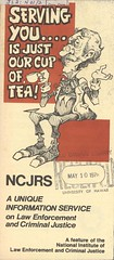 Serving you ... is just our cup of tea! (GovdocsGwen) Tags: man cartoon jamesneal ncjrs
