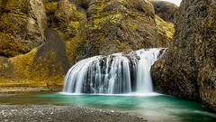 Gonna lose myself in this place (OR_U) Tags: longexposure mountain beach river waterfall iceland widescreen le oru 169 2016 sistersofmercy kirkjubjarklaustur stjrnarfoss systrastapi sistersrock