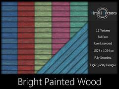 [VT] Bright Painted Wood (VirtualTextures) Tags: wood 3d painted textures secondlife siding flooring planks hardwood