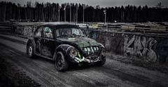 Black Herbie (Robban.G) Tags: nikon d800 2470 sweden folkrace folka bil car tvling race black motor face herbie mlaren sdermanland