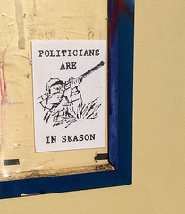 A Most Awful Poster. (TOXTETH L8) Tags: poster politicians murder americans shooting assassination australians britons jocox memberofparliament britishlabourparty shootingsign