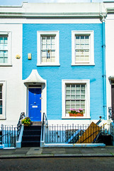 Nottinghill, London (Daniel Tomas Romo Photography) Tags: nottinghill london uk house street blue
