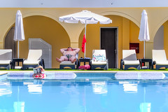 Holiday (PicarusSlim) Tags: sun holiday pool reading cool bed tourist greece cool2 cool5 cool3 cool6 cool4 cool7 cool8 iceboxunanicool